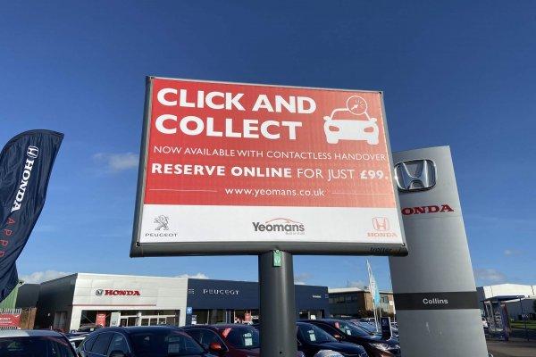 Yeomans Honda click collect