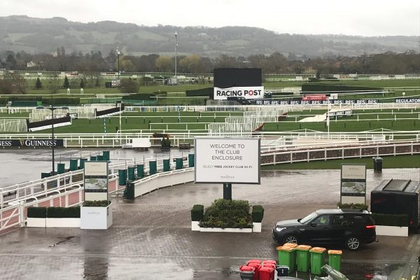 Trotter Temporary Signage - Events - Cheltenham Races